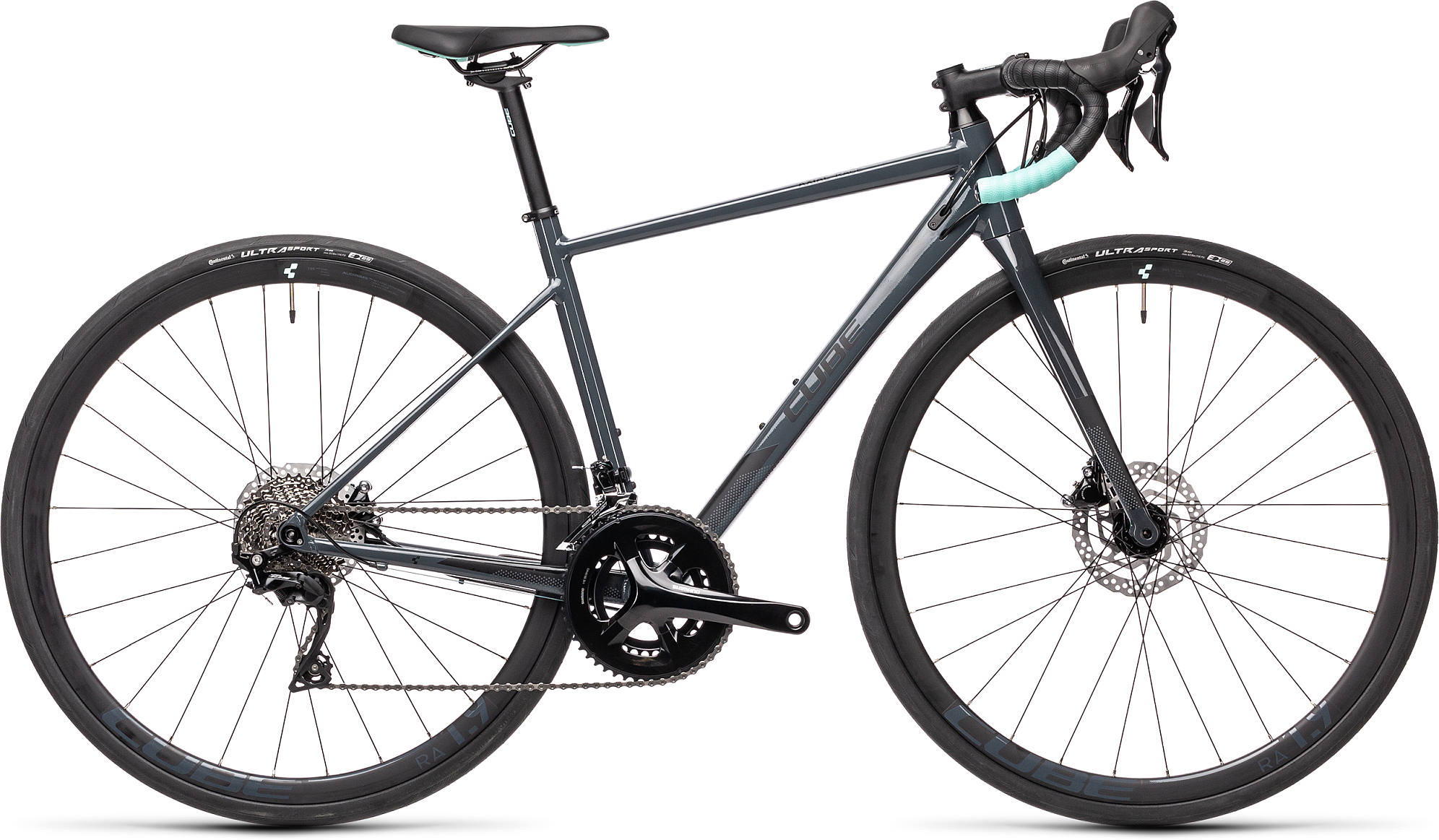 CUBE AXIAL WS RACE GREY/MINT 2021