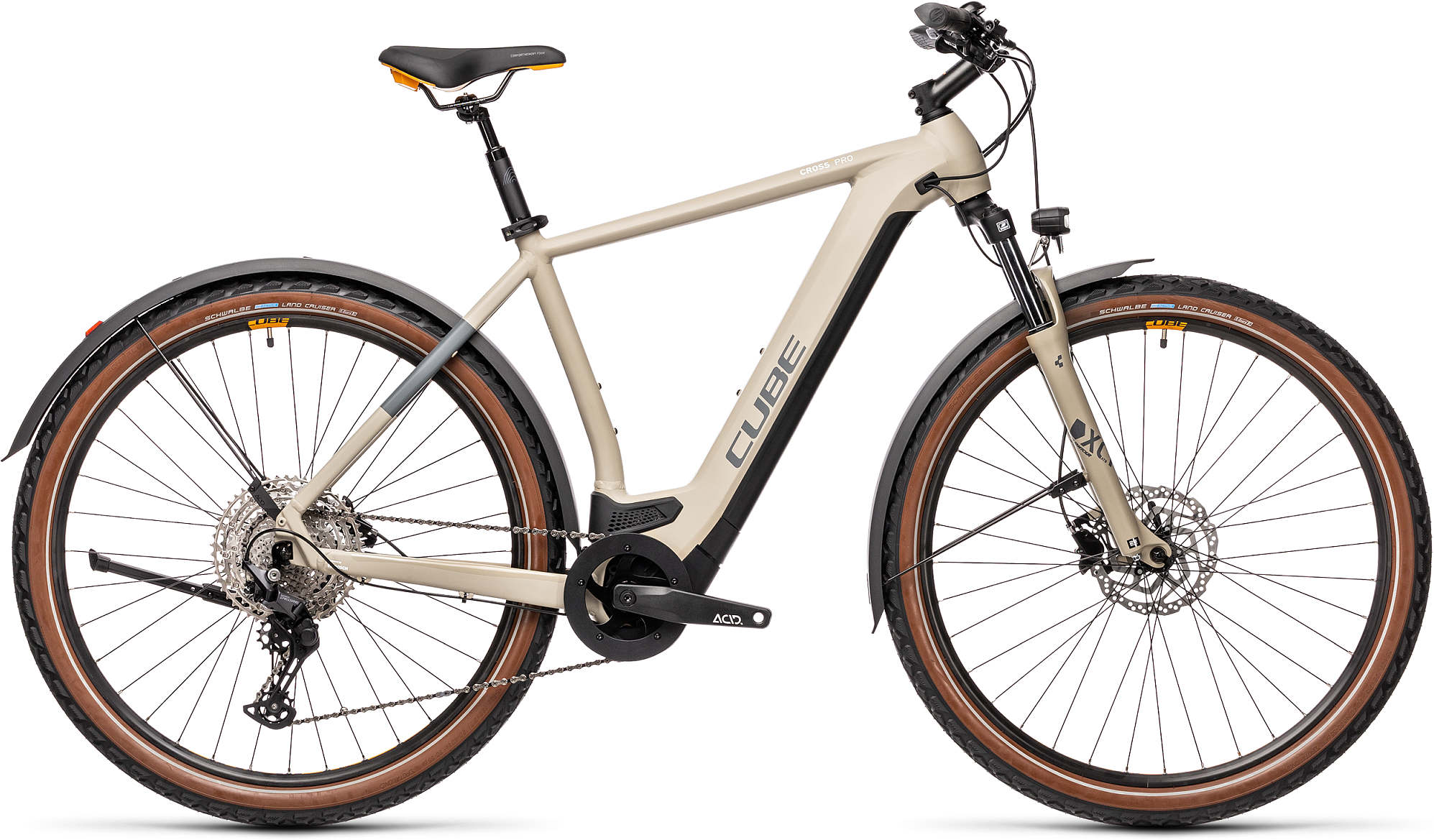 CUBE CROSS HYBRID PRO 625 ALLROAD DESERT/ORANGE 2021