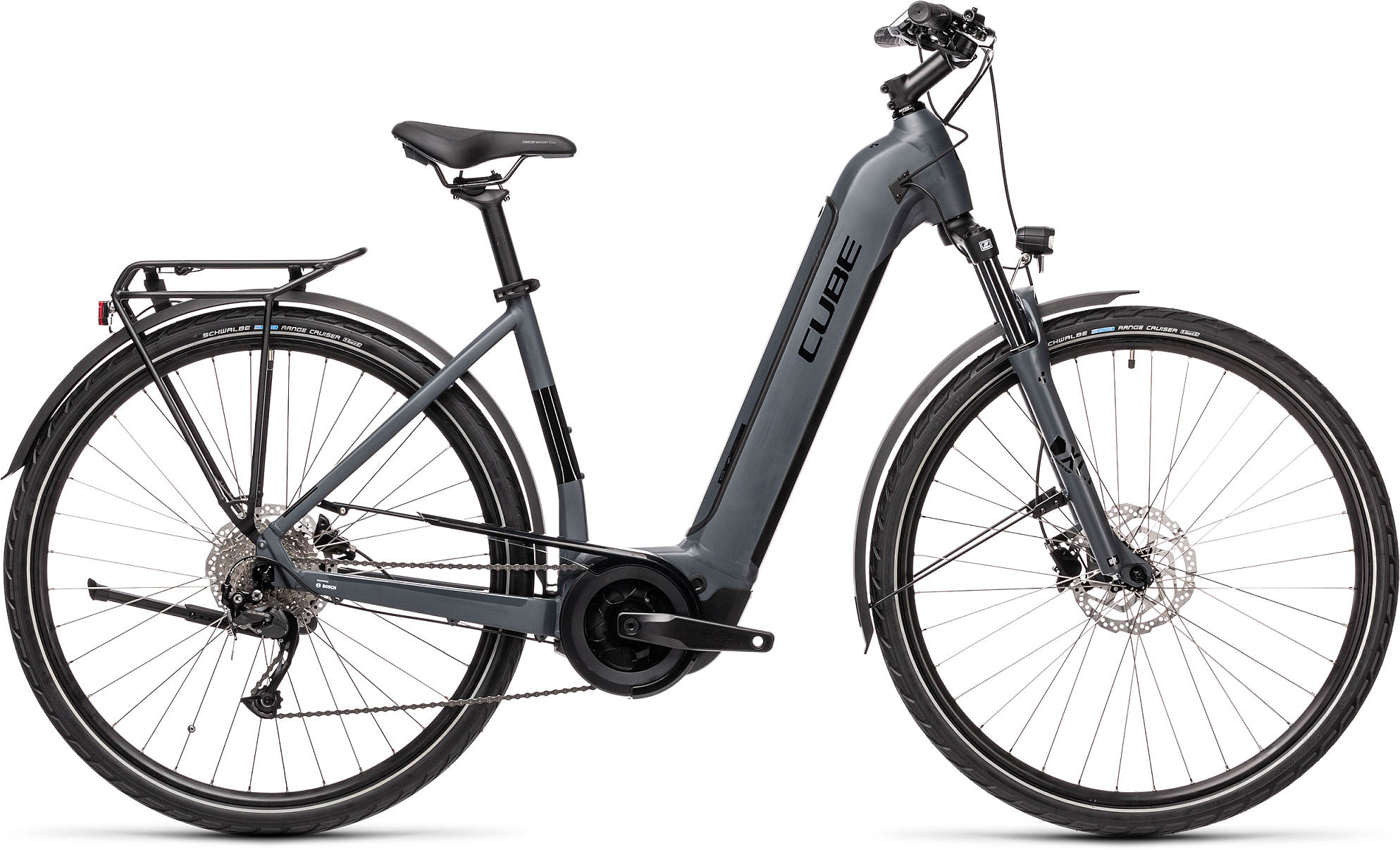 CUBE TOURING HYBRID ONE 400 GREY/BLACK 2021