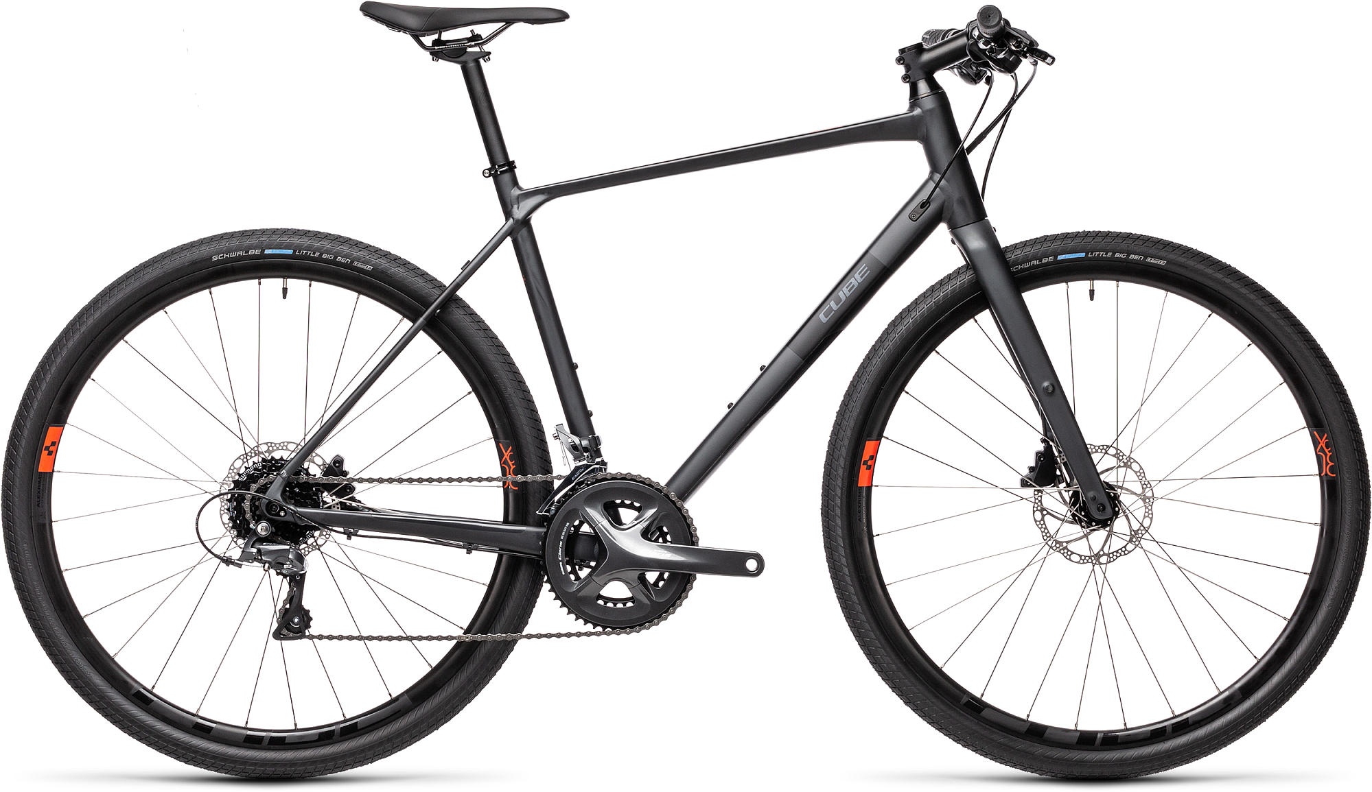 CUBE SL ROAD IRIDIUM/BLACK 2021