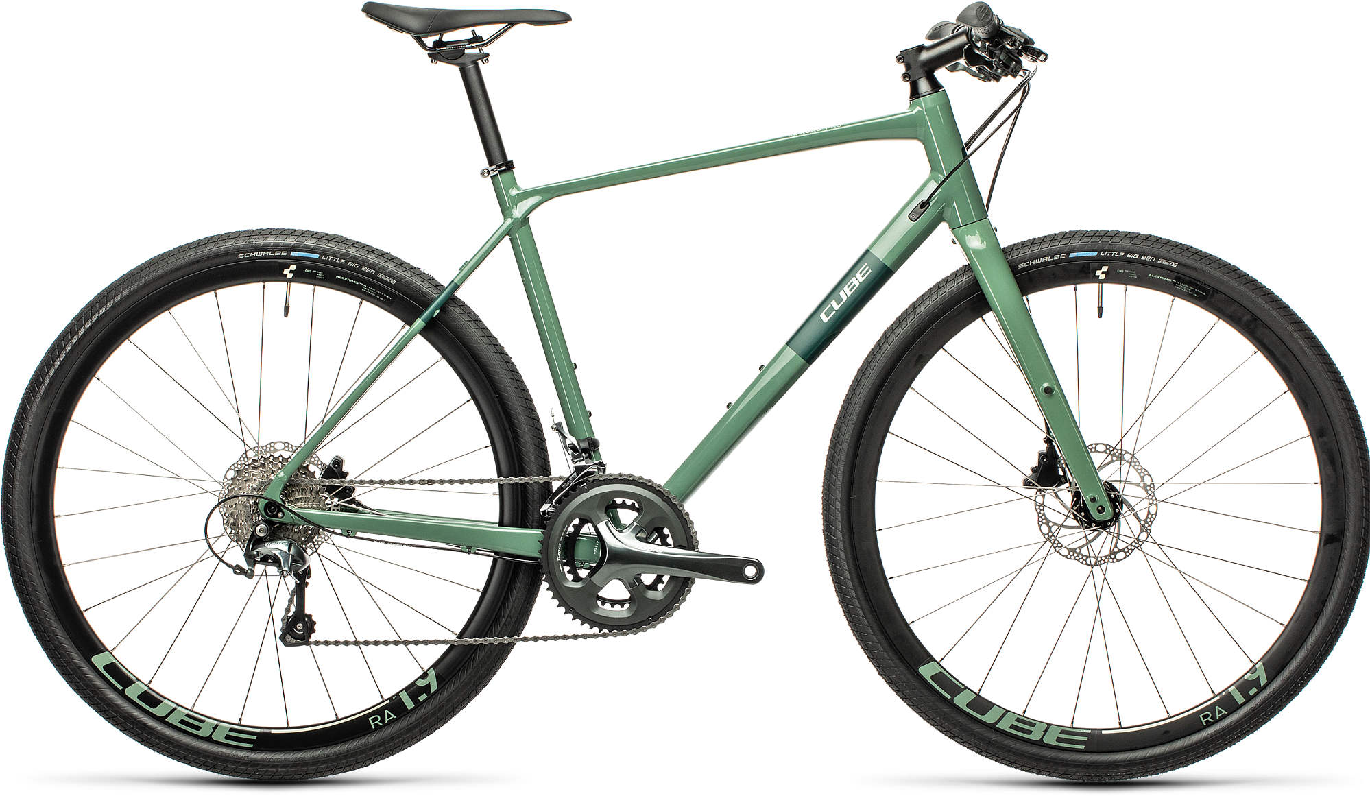 CUBE SL ROAD PRO GREYGREEN/GREEN 2021