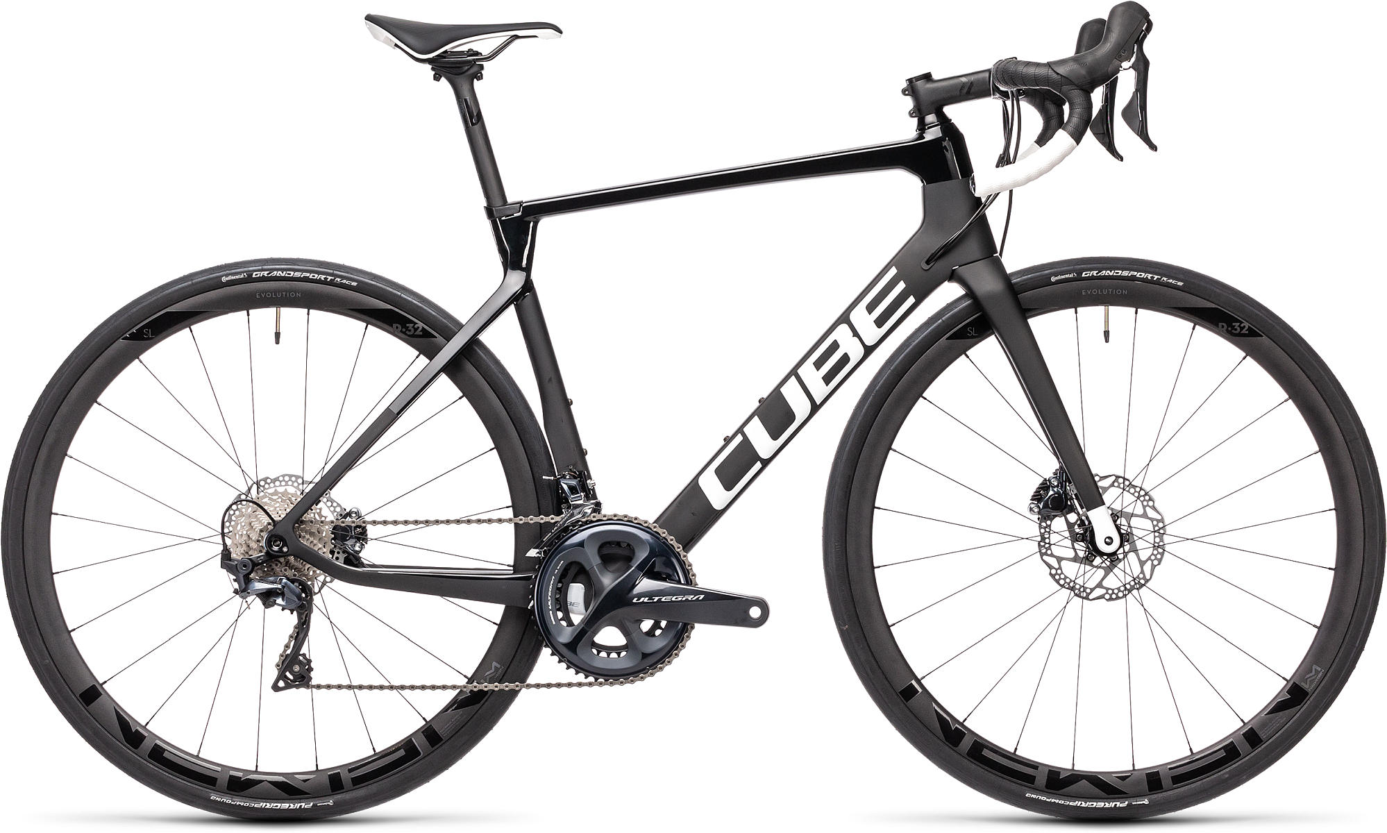 CUBE AGREE C:62 RACE CARBON/WHITE 2021