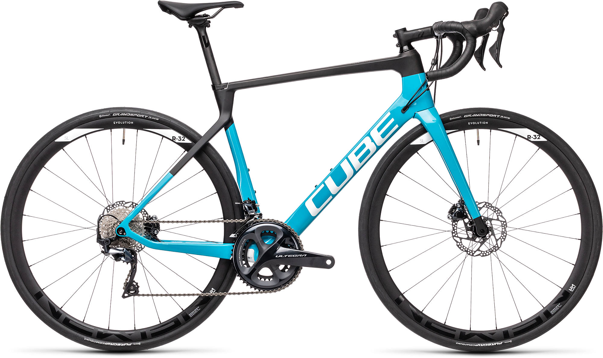CUBE AGREE C:62 RACE CARBON/PETROL 2021
