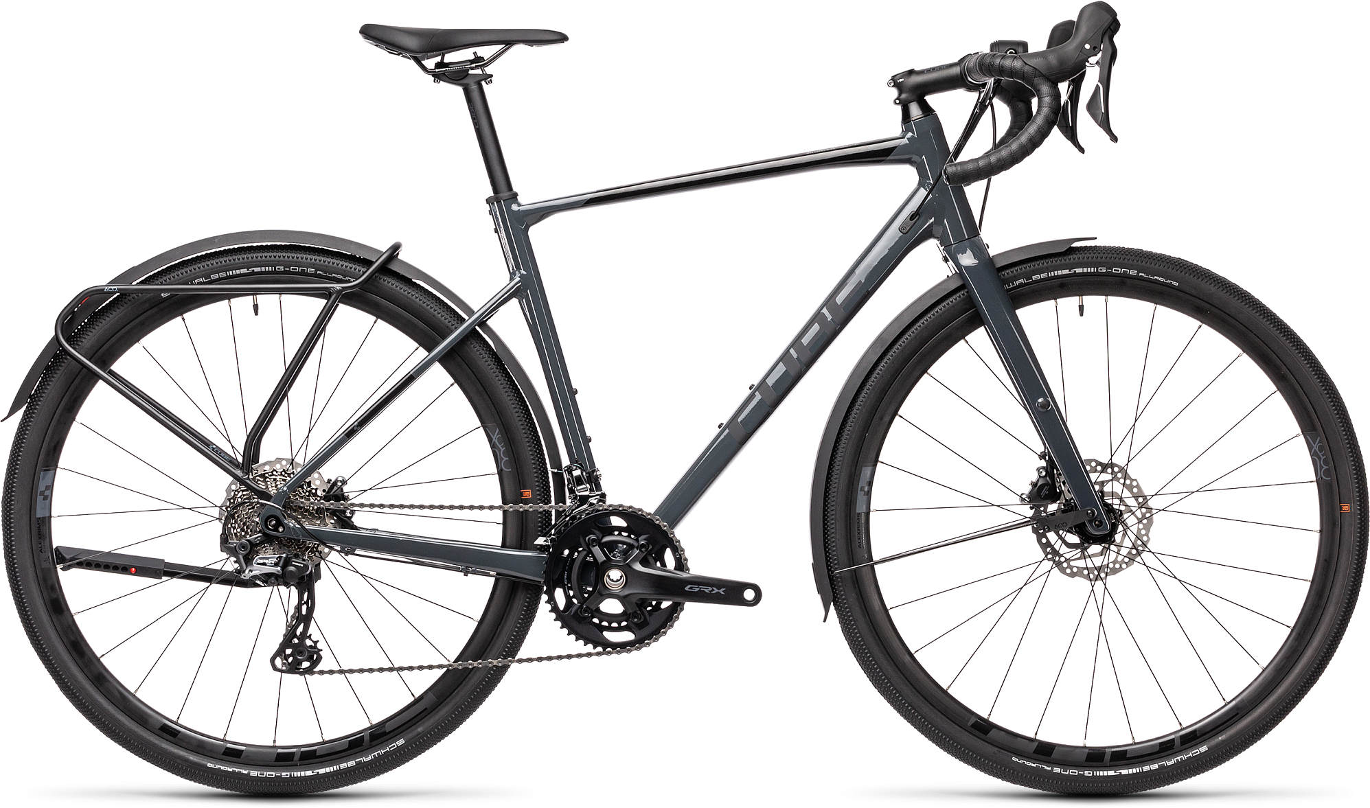 CUBE NUROAD RACE FE GREY/BLACK 2021