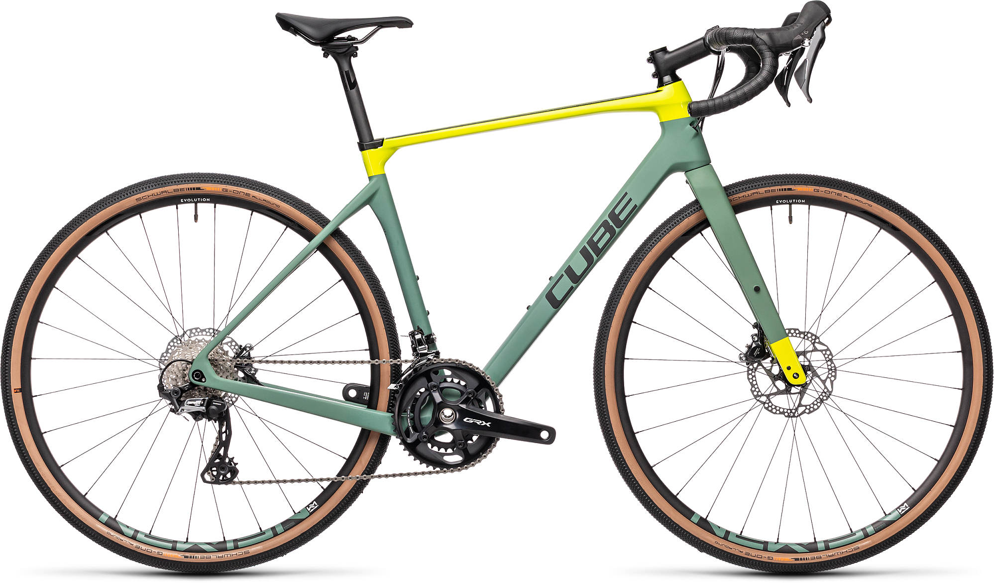 CUBE NUROAD C:62 RACE GREEN/LIME 2021