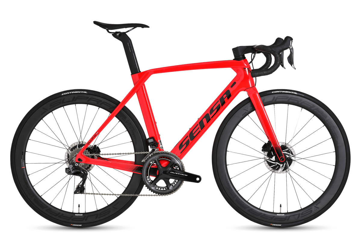 Sensa Giulia Evo Disc Racing Red Ltd Ultegra Di2 UNI 2021