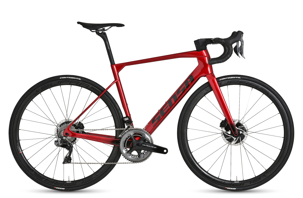 Sensa Giulia GF Cherry Red Ltd. Dura Ace UNI 2021